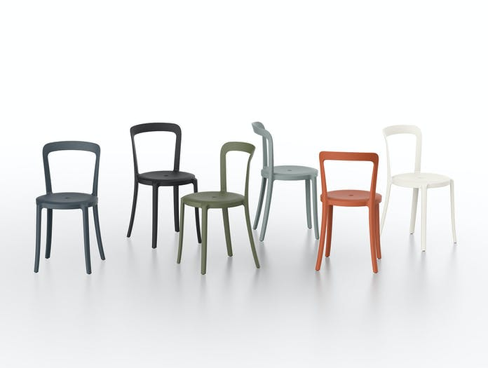 Emeco On and On Chairs recycled plastic Edward Barber Jay Osgerby