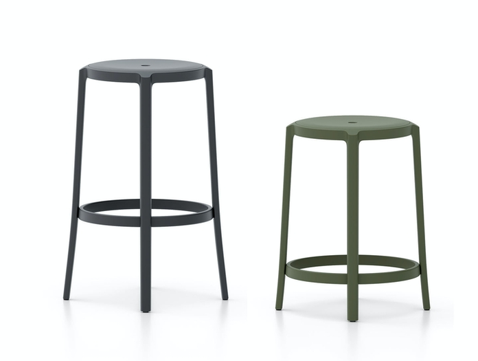 Emeco On and On stools Edward Barber Jay Osgerby