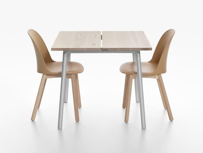 Emeco Run Ash Table with Alfi Chairs