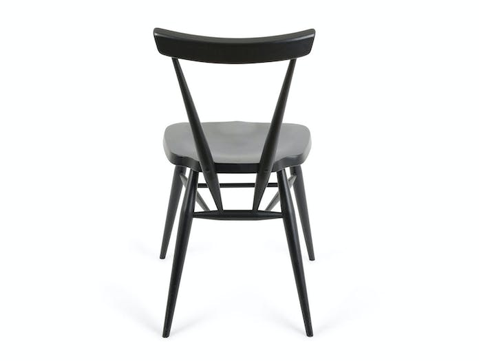 Ercol Originals Stacking Chair black back