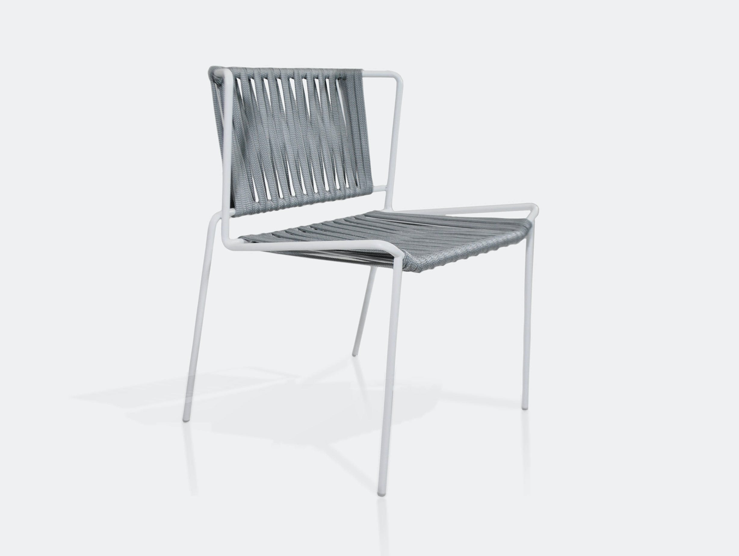 Expormim Out Line Chair white grey Nieves Contreras