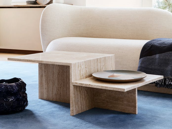 Ferm Distinct Coffee Table travertine 2