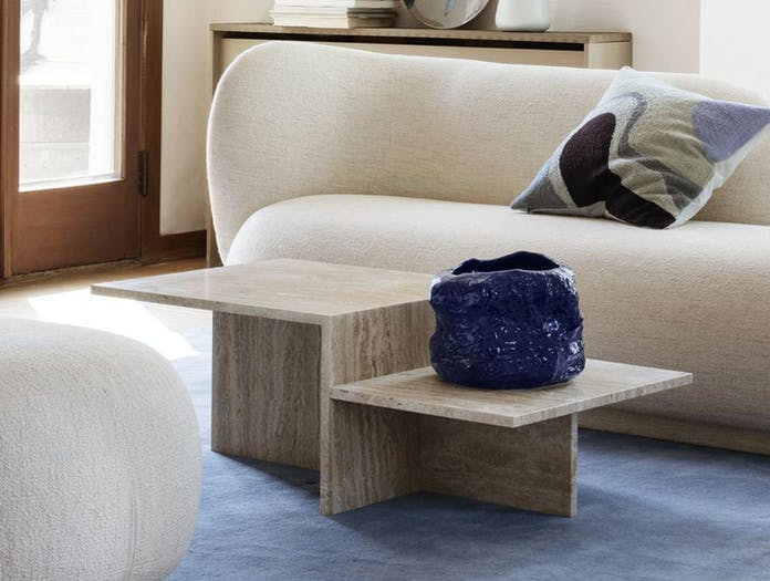 Ferm Distinct Coffee Table travertine 3