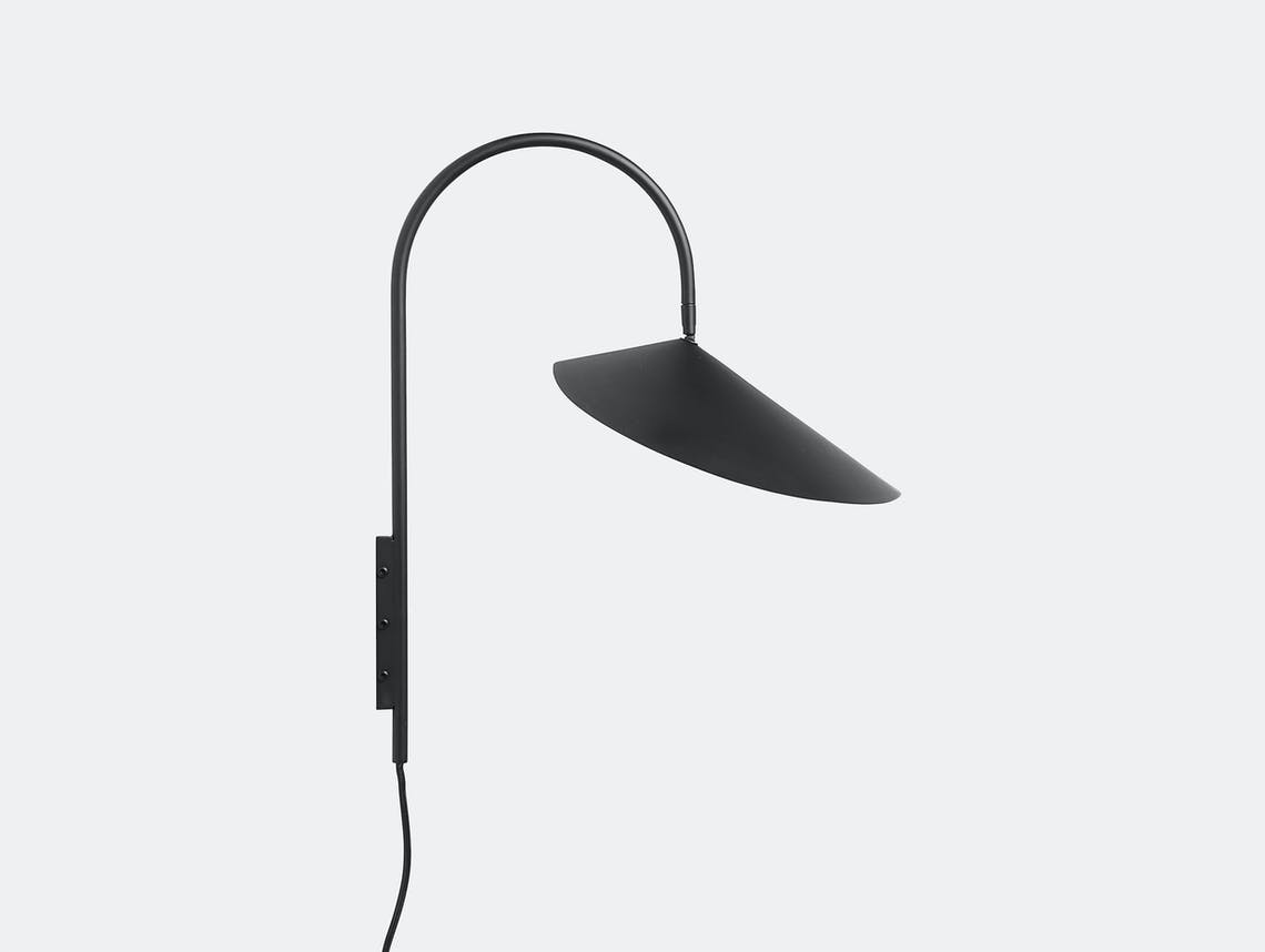 Fer living arum small wall lamp blk
