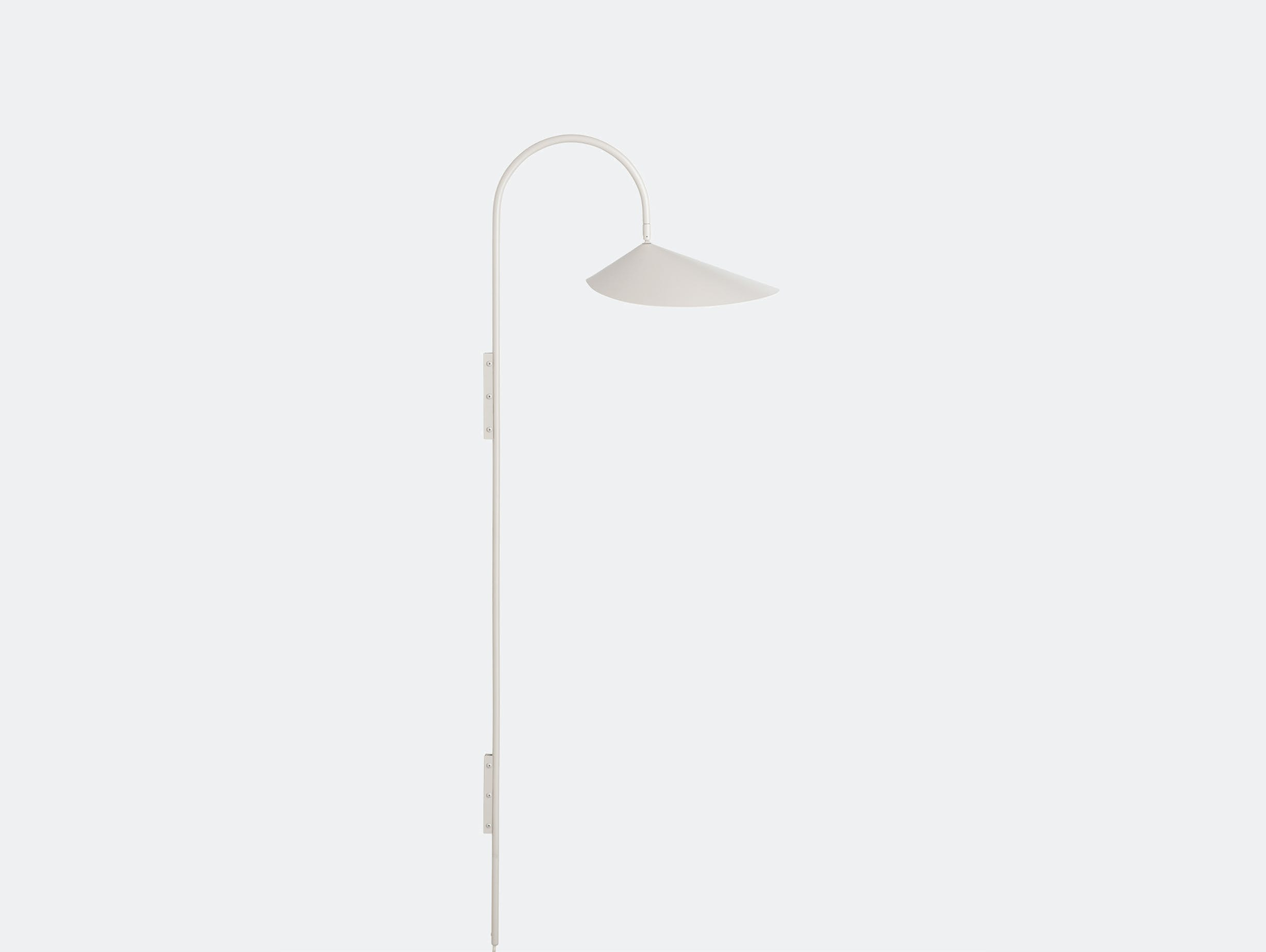 Fer living arum tall wall lamp cashmere