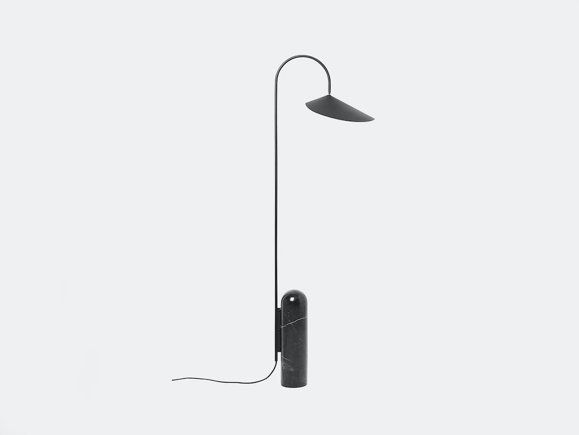 Ferm living arum floor lamp black