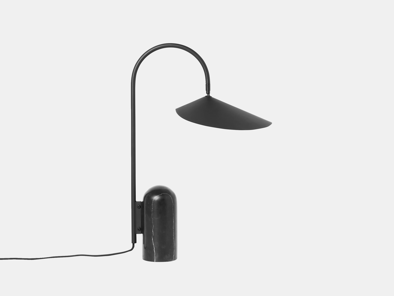 Ferm living arum table lamp blk