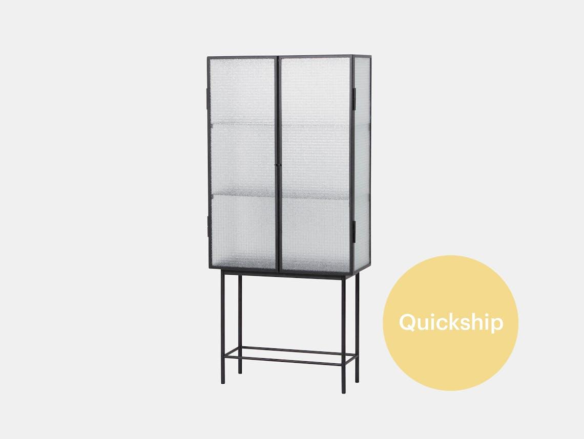 Ferm living haze vitrine cabinet qs