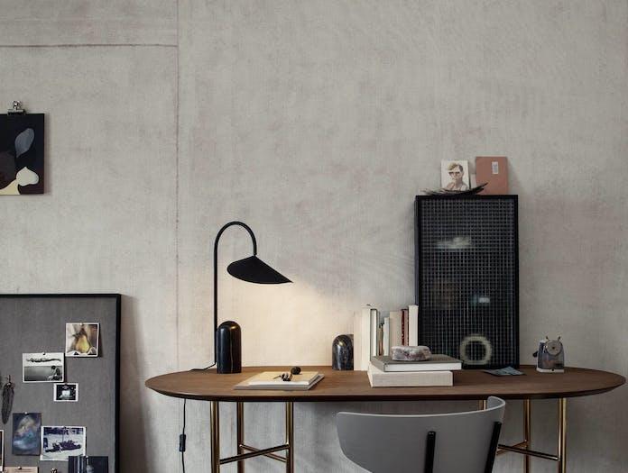 Ferm living arum table lamp blk ls 2