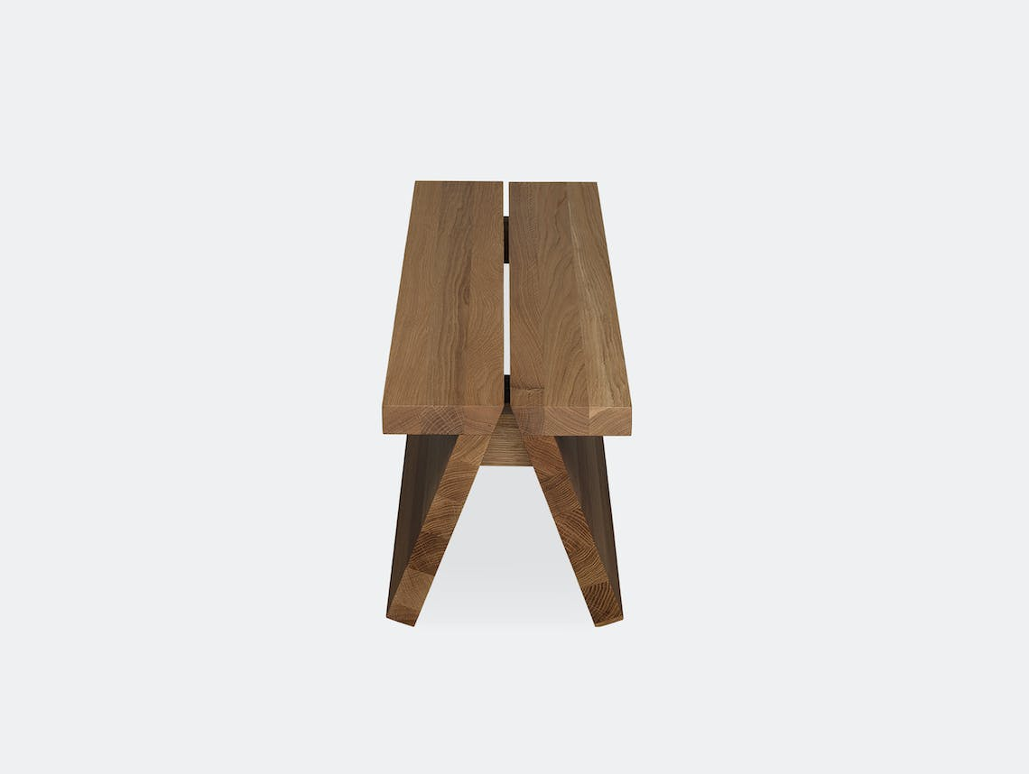 Fogia supersolid object 3 oak bench 3