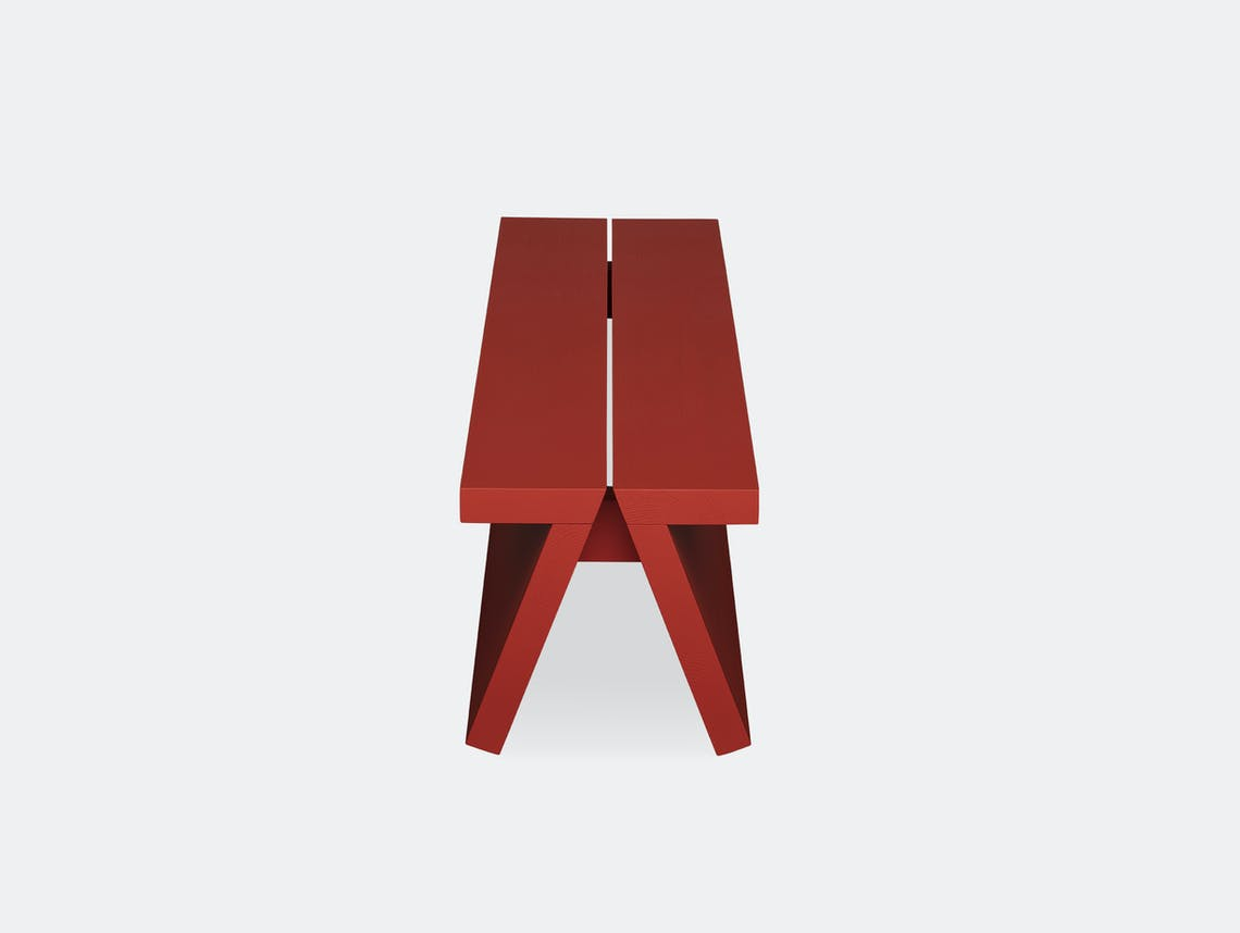 Fogia supersolid object 3 red bench 3