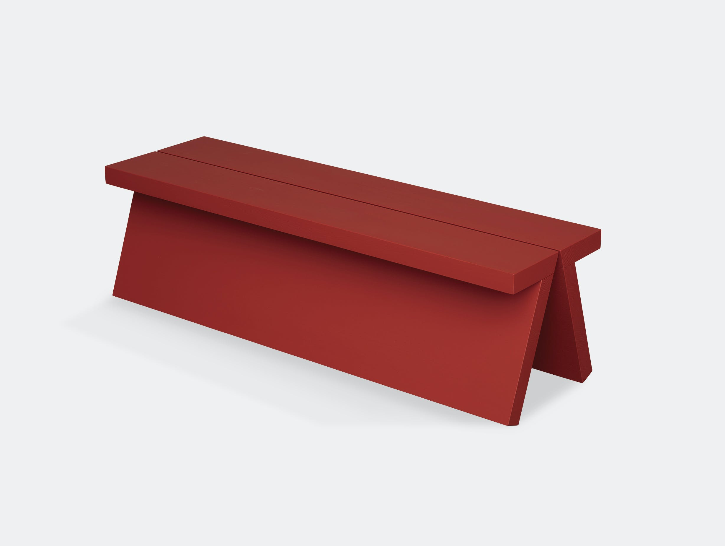Fogia supersolid object 3 red bench
