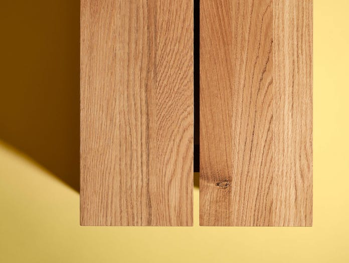 Fogia supersolid object 3 oak bench ls2
