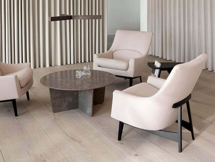 Fredericia A Chairs Wood Base