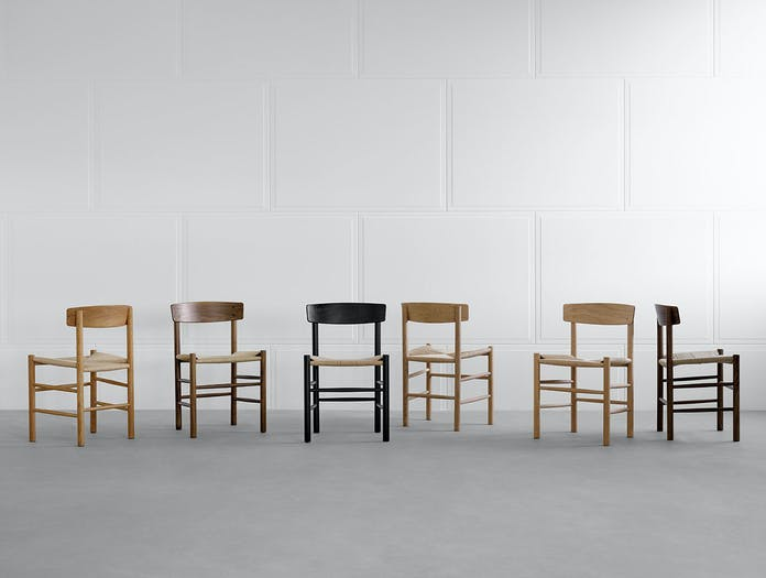 Fredericia J39 chairs 2