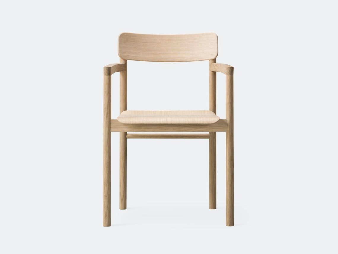 Fredericia Post Chair oak front Cecilie Manz
