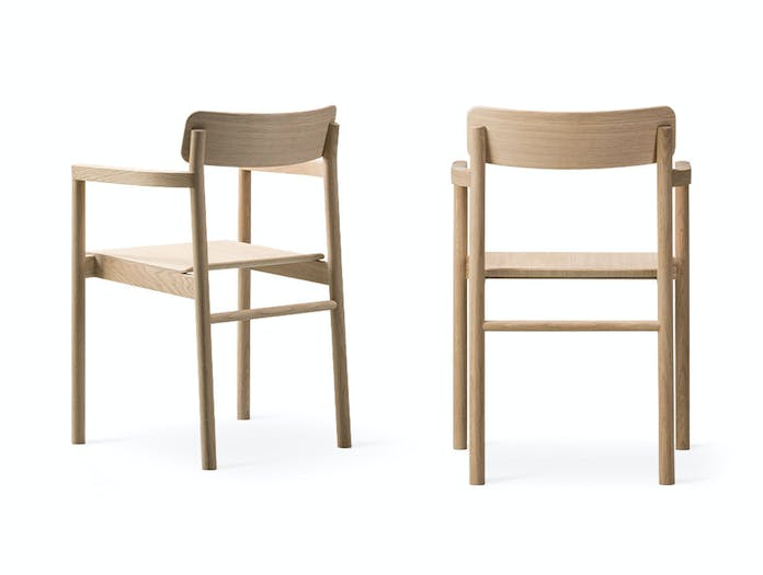 Fredericia Post Chairs oak Cecilie Manz