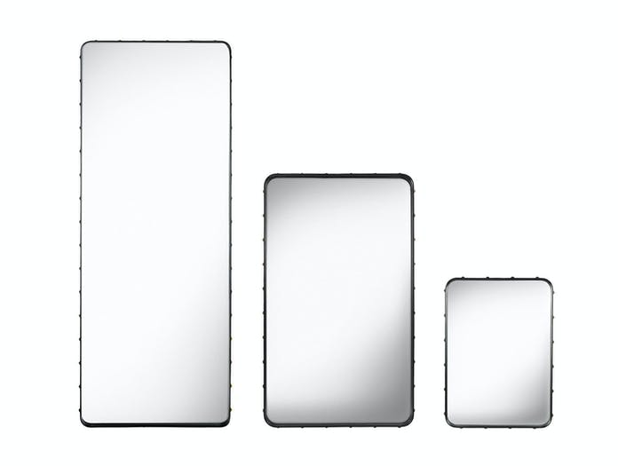 Gubi Adnet Wall Mirrors Rectangular Black