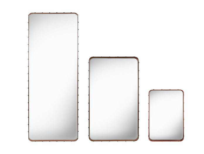 Gubi Adnet Wall Mirrors Rectangular Tan