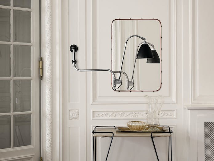 Gubi BL10 Wall Lamp Adnet Wall Mirror Rectangular Mategot Trolley