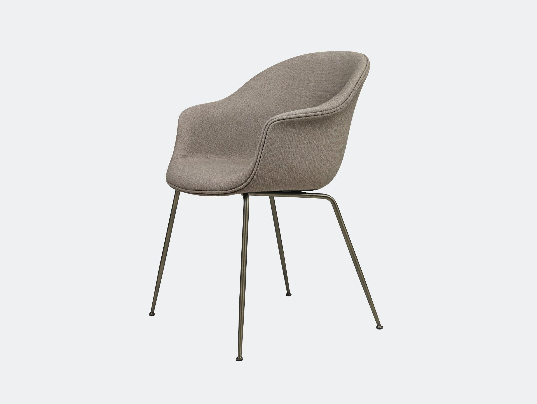 Gubi Bat Dining Chair Fully Upholstered Gabriel Crisp Gam Fratesi