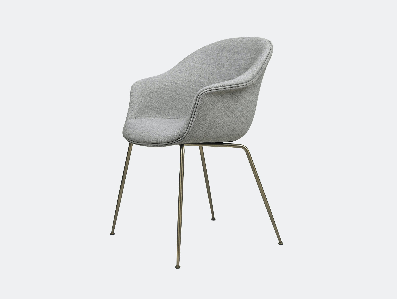 Gubi Bat Dining Chair Fully Upholstered Remix 123 Gam Fratesi