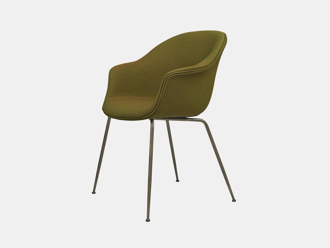 Gubi Bat Dining Chair Fully Upholstered Remix 412 Gam Fratesi
