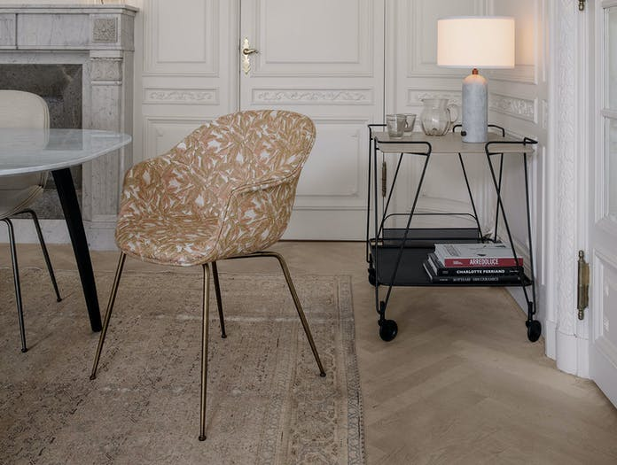 Gubi Bat Dining Chair Mategot Trolley Gravity Table Lamp