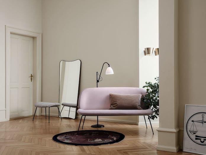 Gubi Beetle Sofa BL3 Floor Lamp 9464 Wall Lamp