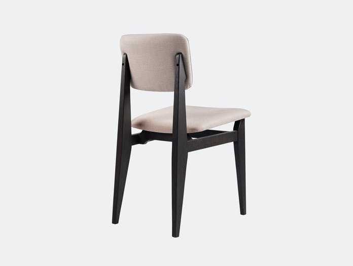 Gubi C Chair Dining Chair Brown Black Stained Oak Sinequanon 30 Fabric Marcel Gascoin