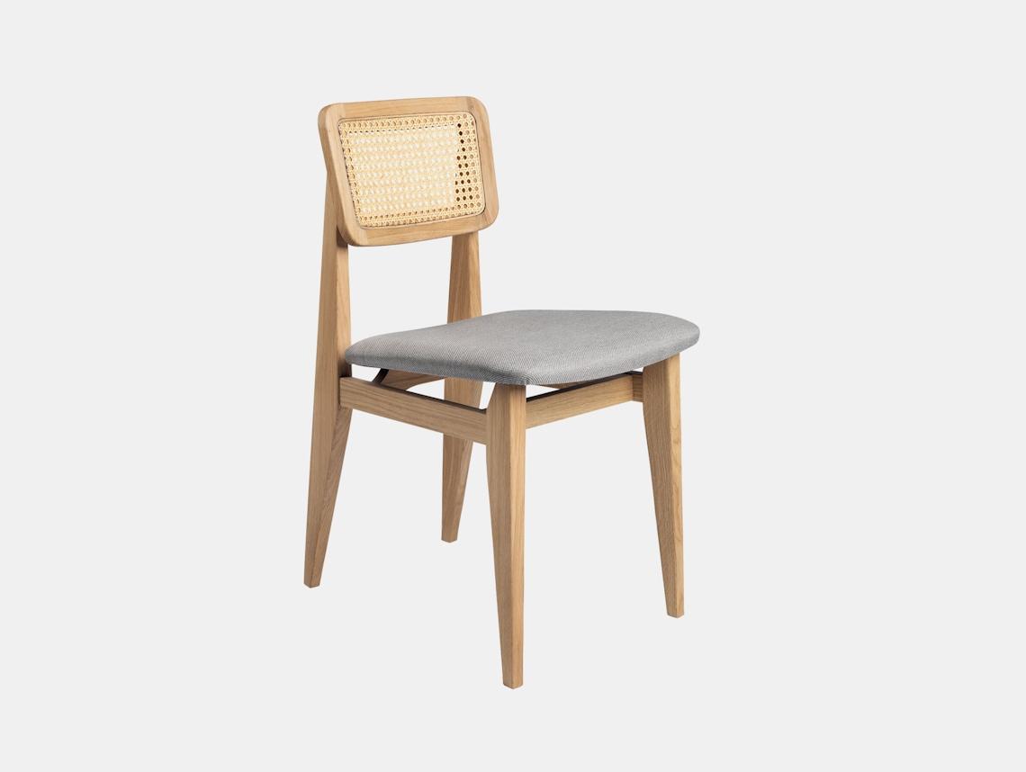 Gubi C Chair Dining Chair Oak Sinequanon 10 Fabric Marcel Gascoin