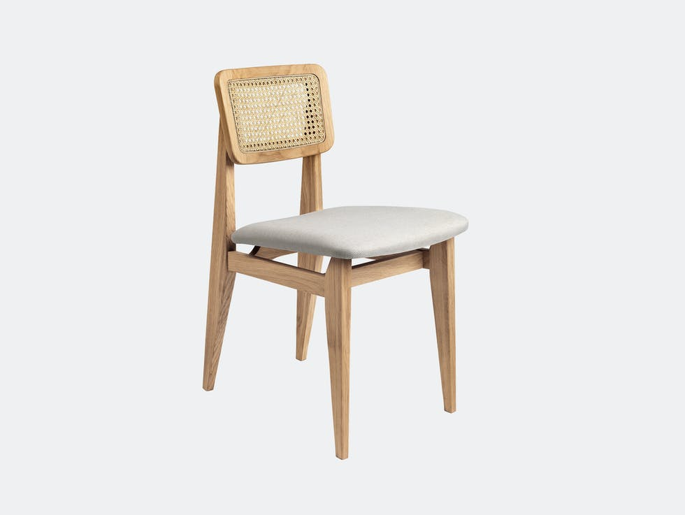 C-Chair Dining Chair, Upholstered image