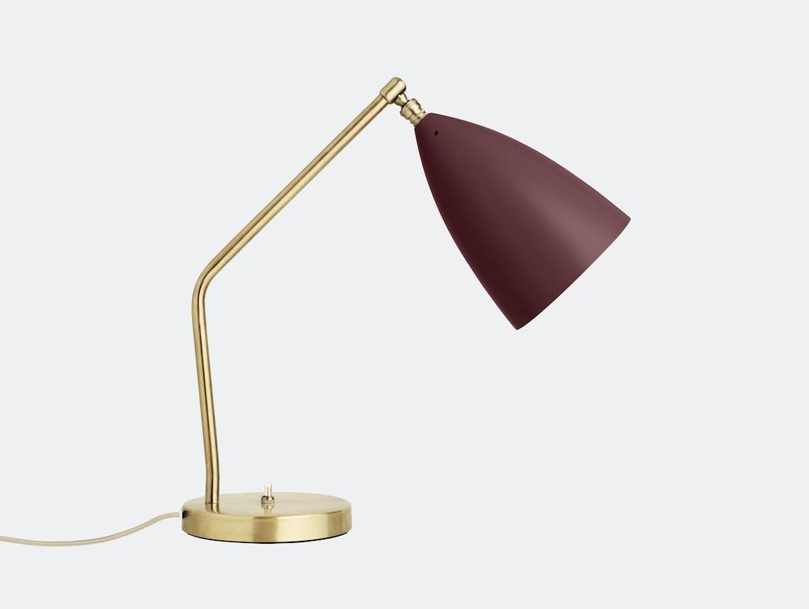 Gubi Grasshopper Table Lamp andorra red Greta Grossman