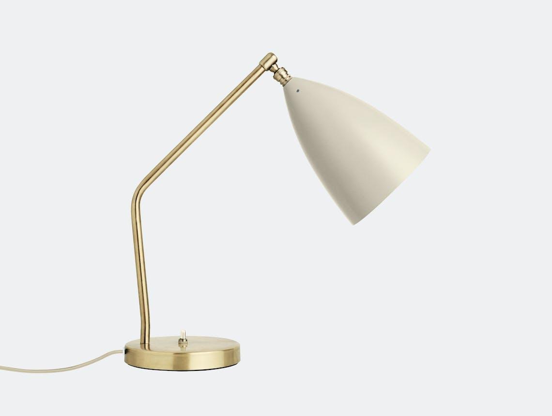 Gubi Grasshopper Table Lamp oyster white Greta Grossman