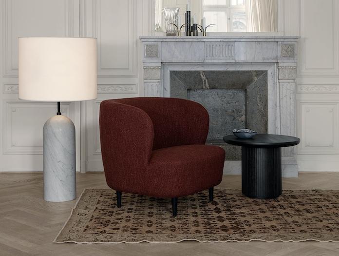 Gubi Gravity Floor Lamp Stay Lounge Chair Moon Coffee Table
