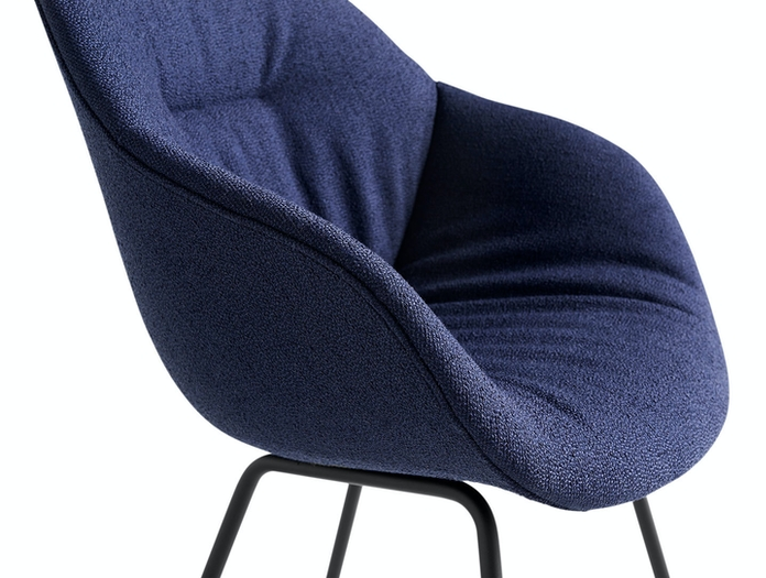 Hay AAC 127 Soft Chair Olavi by HAY 07 black base detail 02