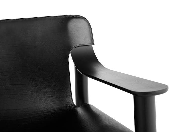 Hay Bernard Easy Chair arm detail Shane Schneck
