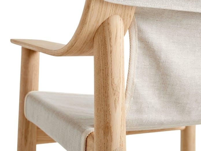 Hay Bernard Easy Chair back detail Shane Schneck