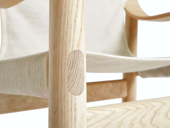 Hay Bernard Easy Chair front detail Shane Schneck