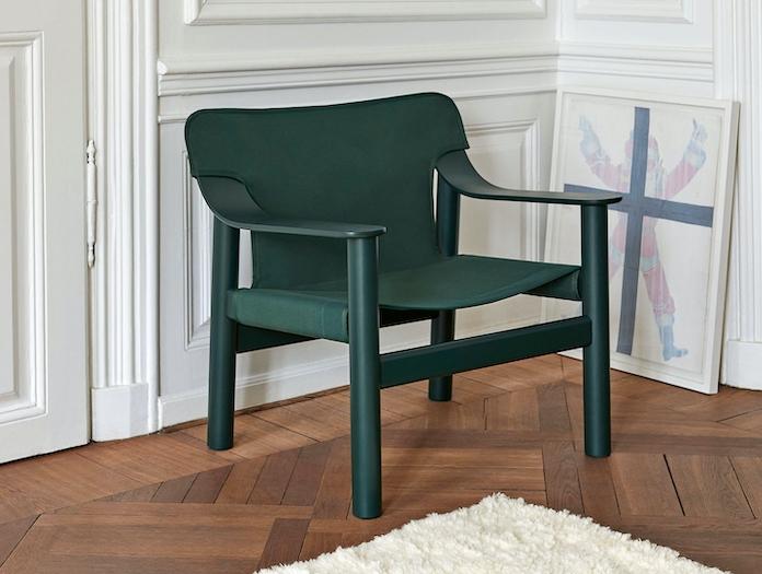 Hay Bernard Easy Chair green 2 Shane Schneck