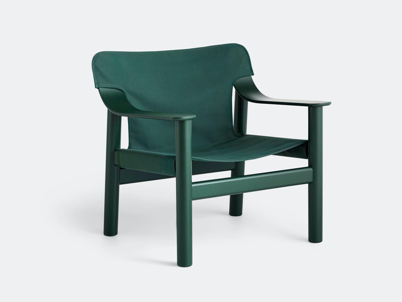 Hay Bernard Easy Chair green Shane Schneck