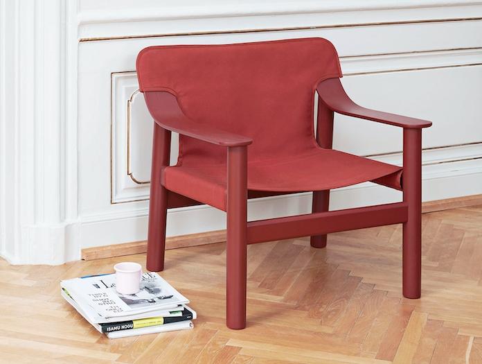 Hay Bernard Easy Chair red 2 Shane Schneck