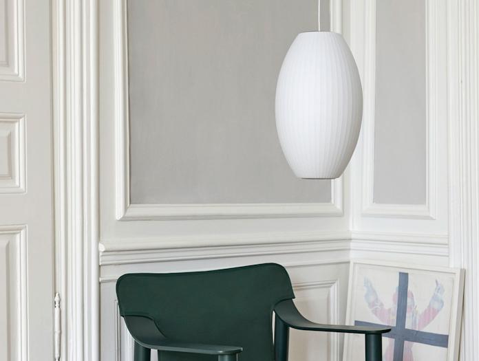 Hay Bubble Lamp Cigar M Bernard chair
