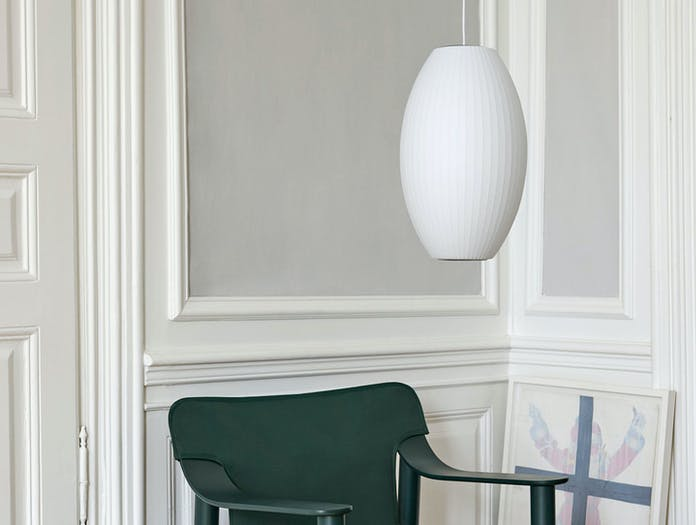Hay Bubble Lamp Cigar M Bernard chair