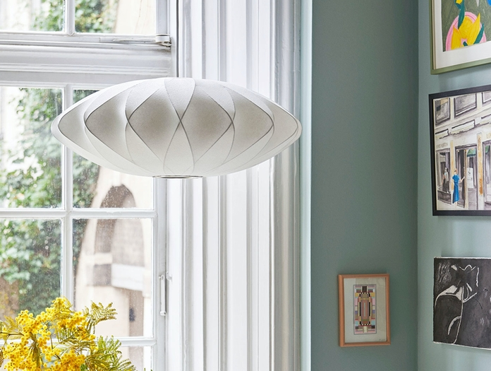 Hay Bubble Lamp Criss Cross M