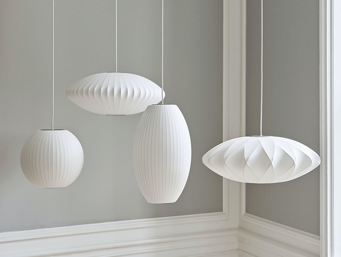 Hay Bubble Lamp family George Nelson