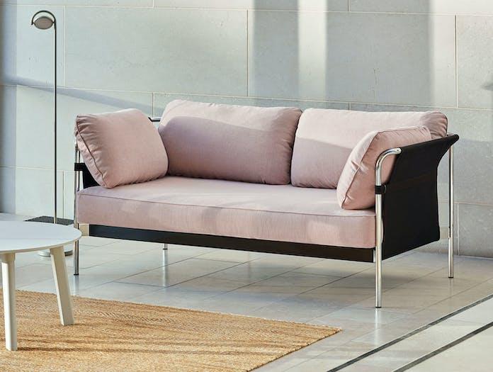 Hay Can Sofa 2 seater Linara 415 chrome Ronan Erwan Bouroullec