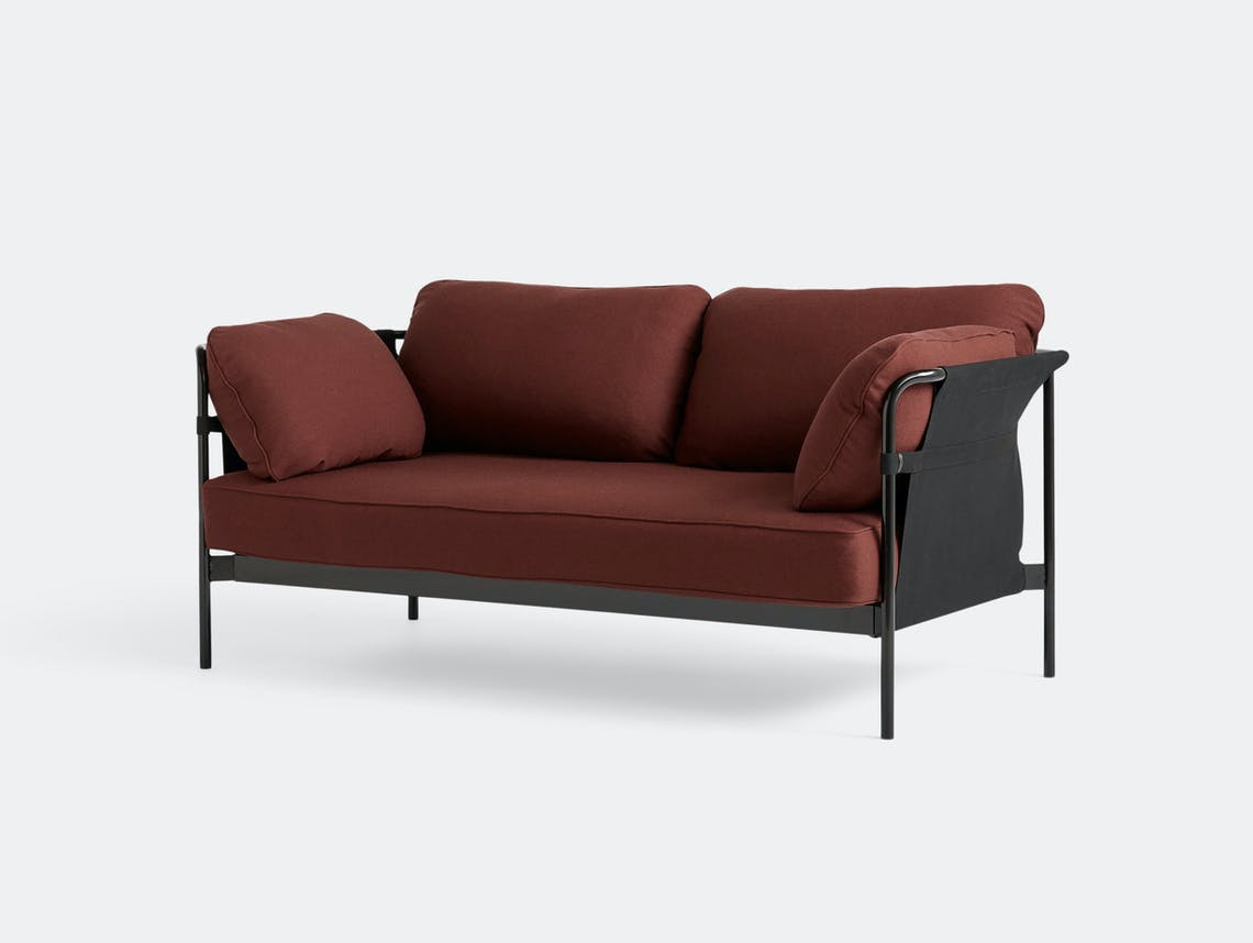Hay Can Sofa 2 seater Steelcut 655 Ronan Erwan Bouroullec