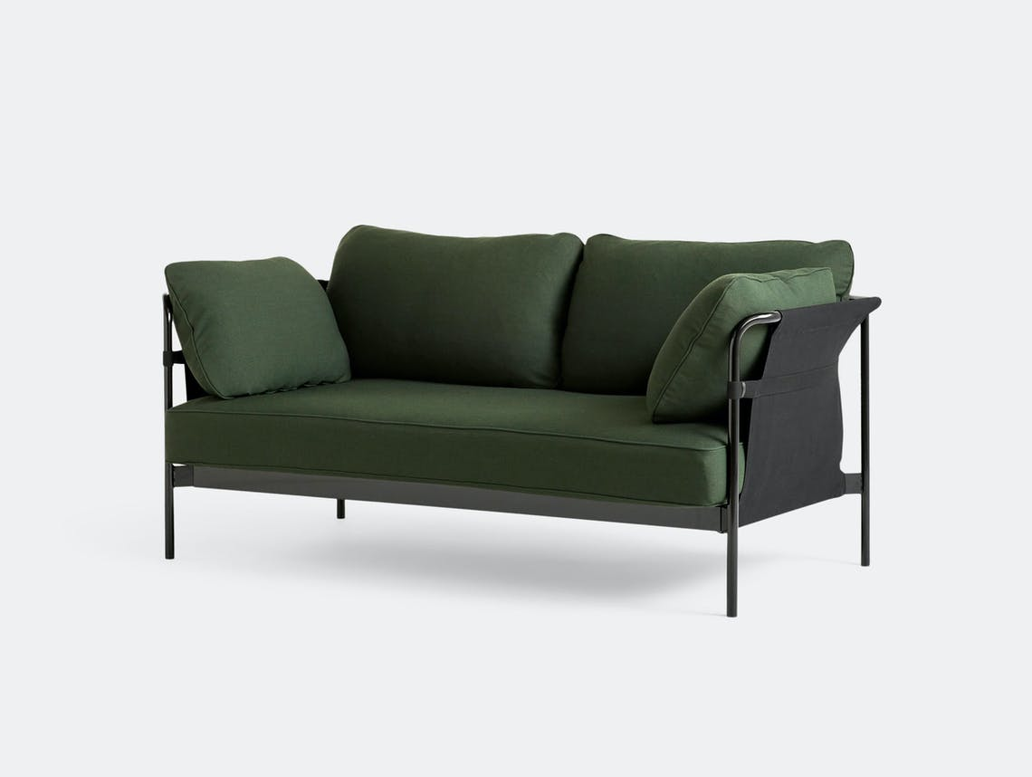 Hay Can Sofa 2 seater Steelcut 975 Ronan Erwan Bouroullec