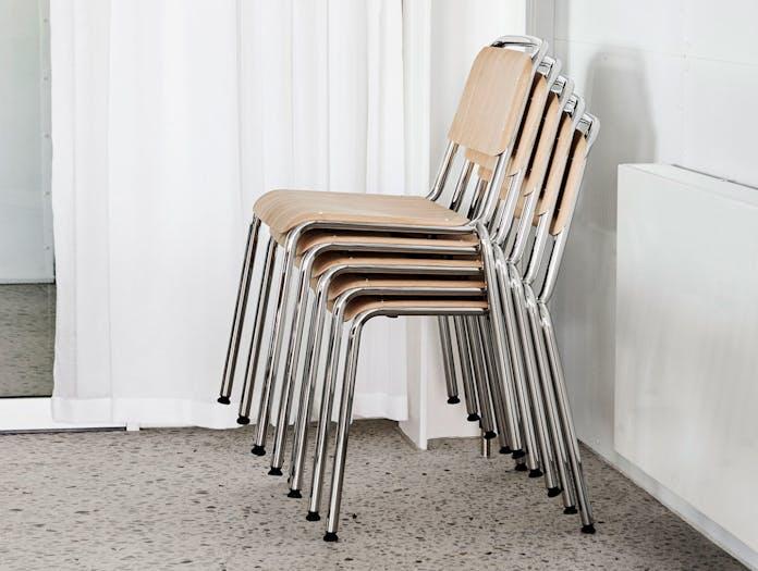 Hay Halftime Chairs stackable COBE Studio